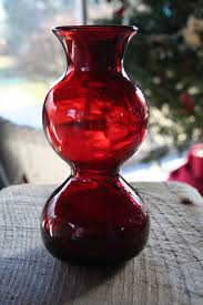 home decor flash sale flash sale ruby red glass vase chemistry beaker with a unique