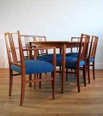 atlas chairs and tables antiques atlas 1950s dining table six chairs by gordon russell