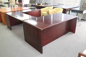 Used U Shaped Desk Paoli U Shaped Desk Plano Used Office Furniture