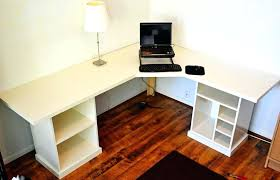 Diy Corner Desks Corner Desk Plans White Office Corner Desktop Plans Projects