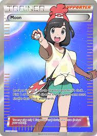 Pokemon Trainer Card Designer Trainer Moon Fa Custom Pokemon Card By Kryptixdesigns On Deviantart
