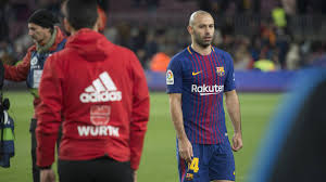 bid farewell mascherano to bid farewell to bar礑a at event on wednesday as