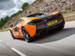 orange mclaren rear mclaren 570s coupe 2016 pictures information u0026 specs