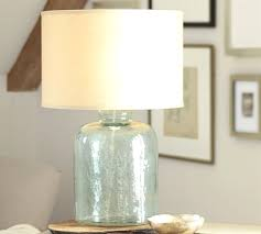 Pottery Barn Lamos Table Lamps With Glass Base Murano Lamp Pottery Barn And 0 C On