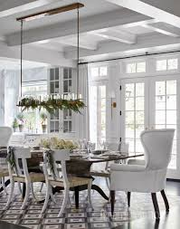 Choros Chandelier Holiday Home In Black And White Traditional Home