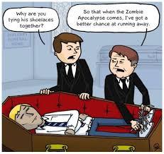 Zombie Apocalypse Meme - the best defense against a zombie apocalypse meme guy