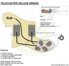 six string supplies u2014 72 telecaster deluxe wiring