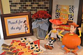 Halloween Themed Birthday Party Supplies by My Son U0027s Toy Story Birthday Party The Cards We Drew