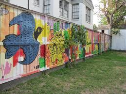 mural on wood panoramio photo of mural like on wood fence bordering ervan