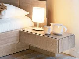floating nightstand ideas wall mounted nightstand with drawer
