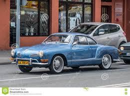 vw karmann ghia classic german vw karmann ghia driving editorial stock photo