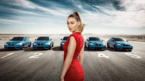 bmw ads try keeping your eyes on gigi hadid in this whiplash inducing 360