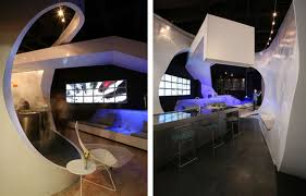 futuristic style dining room design and decoration orchidlagoon com