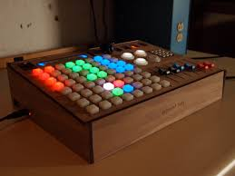 it comes in colors an rgb grid controller from livid rgb grid