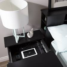 new nightstand with charging station 11 on home designing