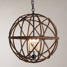twig sphere chandelier or pendant light small shades of light twig sphere chandelier or pendant light