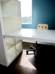 Desktop Bookshelf Ikea Diy Bookshelf From Ikea Would Put Desktop On Other Side Of
