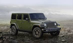 jeep wrangler custom celebrate 75 years w the jeep wrangler and custom wheels