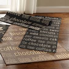 cool kitchen rugs rooster kitchen rugs homesfeed area rug cool cool design ideas using brown laminate floor and rectangular black brown motif rugs