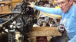gs suzuki engine removal youtube