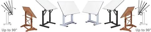 Artist Drafting Tables Artist Adjustable Drafting Tables Top Tilts 85 For Drawing Comfort