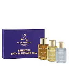 aromatherapy associates essential bath and shower oils space nk