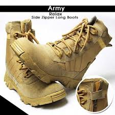 buy boots pakistan buy shopping at craze army zipper boots for brown