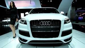 Audi Q7 Diesel - 2013 audi q7 tdi quattro exterior and interior walkaround 2012