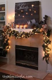 41 best christmas fireplace images on pinterest christmas