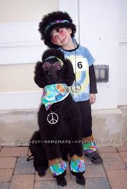 Beekeeper Halloween Costume Pet Dog Halloween Costume Howl Hippie Dog Halloween