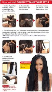 cuban twist hair freetress equal synthetic cuban twist braid 24 inch