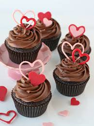 personalised chocolate cupcakes valentines day gifts chocolate s heart cupcakes cupcakes cupcake