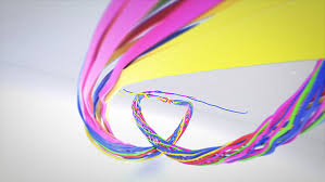 colorful ribbon colorful ribbon logo reveal by donvladone videohive