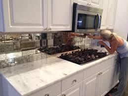 mirror backsplash in kitchen kitchen best 20 mirror backsplash ideas on splashback