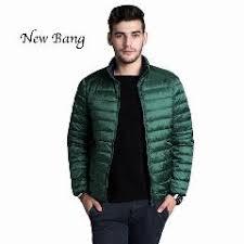 Plus Size Down Coats New Ultra Light Duck Down Jacket Men Feather Man Winter Double