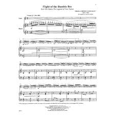 Chandelier Sia Piano Sheet Music Rimsky Korsakov Nikolai The Flight Of The Bumble Bee Violin