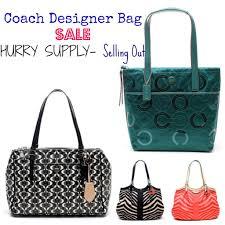 coach designer bag sale selling fast