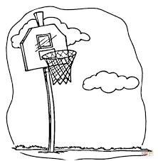 Basketball Coloring Page Free Printable Coloring Pages Basketball Color Page