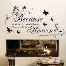 Bedroom Wall Stickers Sayings Compare Prices On Butterfly Wall Decals Online Shopping Buy Low