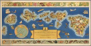 Blank Map Of Hawaiian Islands by Dole Map Of The Hawaiian Islands U S A David Rumsey Historical