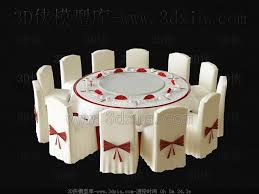Used Table And Chairs Wedding Used Round Table And Chairs 3d Model U2013 Over Millions