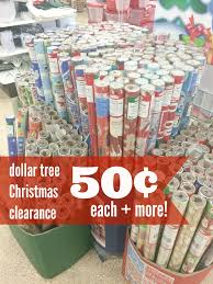 clearance christmas wrapping paper dollar tree christmas clearance everything just 50 each