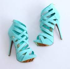 light blue shoes womens liliana mint and gold strappy pumps cicihot heel shoes online
