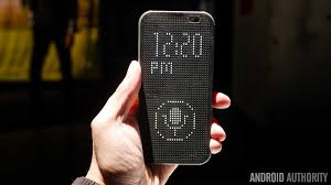 htc one m8 dot view case is actually quite cool hands on