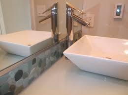 metallic kitchen tiles kitchen and bathroom backsplash bathroom