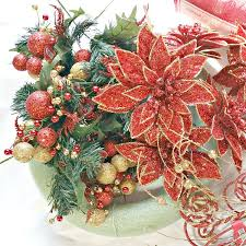 poinsettia wreath tutorial intelligent domestications