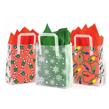 christmas gift bag christmas design plastic gift bags box and wrap