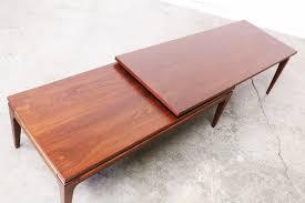 mid century modern surfboard coffee table mid century walnut