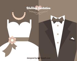 vector vintage wedding invitation card design template