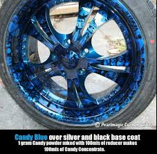 120g candy apple blue concentrate powder auto custom paint